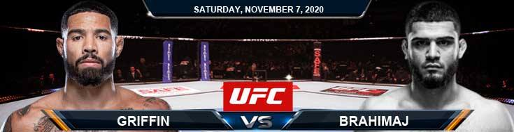 UFC on ESPN 17 Griffin vs Brahimaj 11-07-2020 Tips Results and Analysis