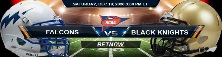 Air Force Falcons vs Army Black Knights 12-19-2020 NCAAF Previews Spread & Game Analysis