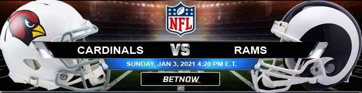 Arizona Cardinals vs Los Angeles Rams 01-03-2021 Predictions Previews and Spread