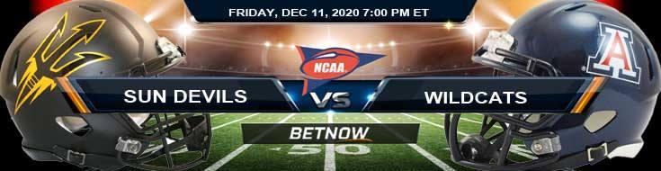 Arizona State Sun Devils vs Arizona Wildcats 12-11-2020 NCAAF Tips Forecast & Analysis