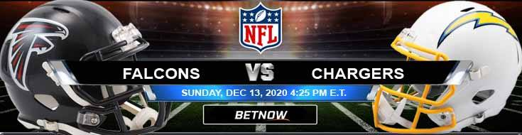Atlanta Falcons vs Los Angeles Chargers 12-13-2020 Football Betting Odds and Picks