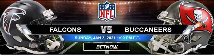 Atlanta Falcons vs Tampa Bay Buccaneers 01-03-2021 Odds Picks and Predictions