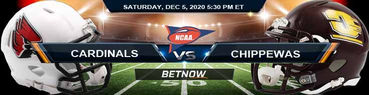 Ball State Cardinals vs Central Michigan Chippewas 12-5-2020 NCAAF Tips Forecast & Analysis