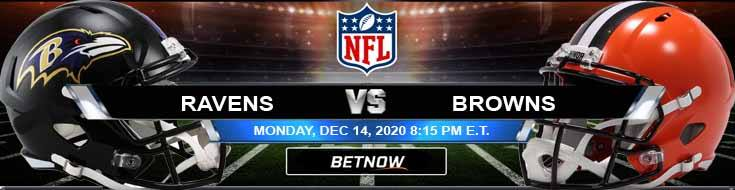 Baltimore Ravens vs Cleveland Browns 12-14-2020 Spread Game Analysis and Tips