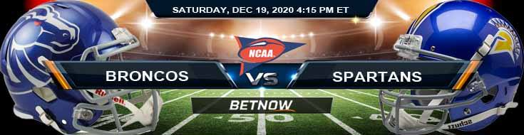 Boise State Broncos vs San Jose State Spartans 12-19-2020 NCAAF Previews Tips & Results