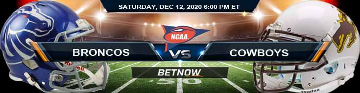 Boise State Broncos vs Wyoming Cowboys 12-12-2020 NCAAF Game Analysis Tips & Spread