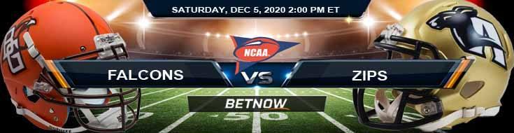 Bowling Green Falcons vs Akron Zips 12-5-2020 Tips NCAAF Odds & Picks