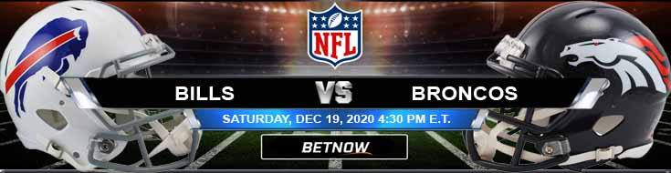 Buffalo Bills vs Denver Broncos 12-19-2020 Picks Predictions and Previews