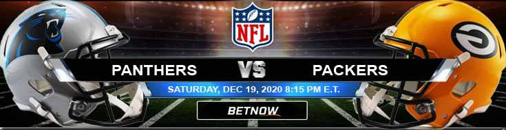 Carolina Panthers vs Green Bay Packers 12-19-2020 Predictions Previews and Spread
