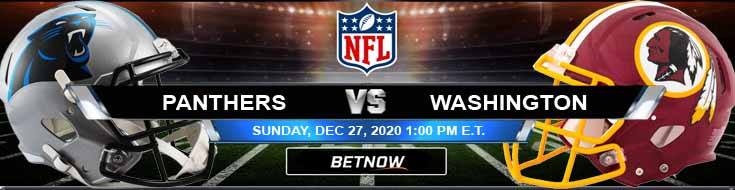 Carolina Panthers vs Washington Football Team 12-27-2020 Game Analysis Tips and NFL Forecast