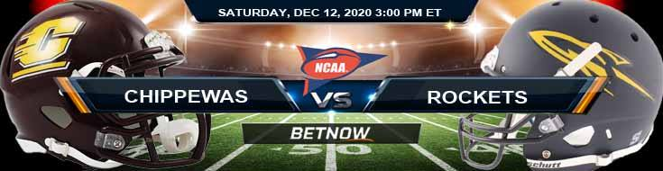 Central Michigan Chippewas vs Toledo Rockets 12-12-2020 NCAAB Previews Picks & Spread