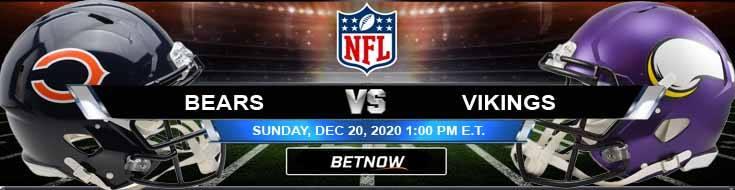 Chicago Bears vs Minnesota Vikings 12-20-2020 Previews Spread and Game Analysis