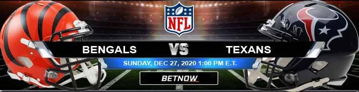 Cincinnati Bengals vs Houston Texans 12-27-2020 Forecast Analysis and Results