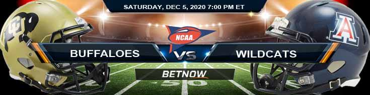Colorado Buffaloes vs Arizona Wildcats 12-5-2020 NCAAF Tips Results & Predictions