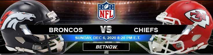 Denver Broncos vs Kansas City Chiefs 12-06-2020 Odds Picks and Predictions