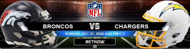 Denver Broncos vs Los Angeles Chargers 12-27-2020 Odds Picks and Predictions