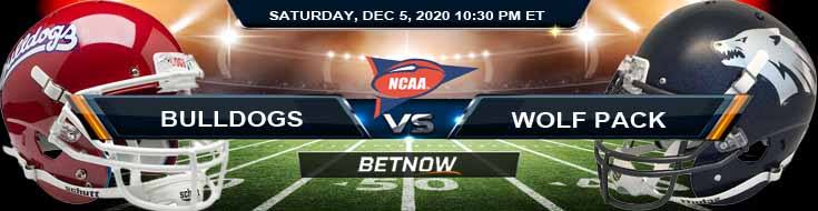 Fresno State Bulldogs vs Nevada Wolf Pack 12-5-2020 NCAAF Odds Previews & Tips