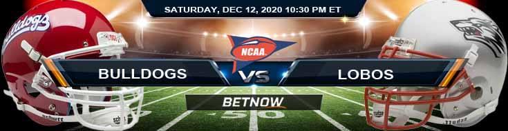 Fresno State Bulldogs vs New Mexico Lobos 12-12-2020 NCAAF Tips Odds & Predictions