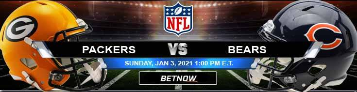 Green Bay Packers vs Chicago Bears 01-03-2021 NFL Previews Spread and Game Analysis
