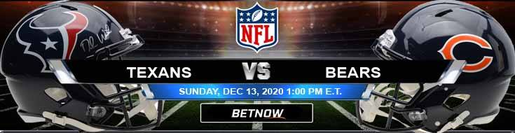 Houston Texans vs Chicago Bears 12-13-2020 Spread Game Analysis and Tips