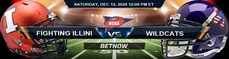Illinois Fighting Illini vs Northwestern Wildcats 12-12-2020 NCAAF Game Analysis Tips & Spread