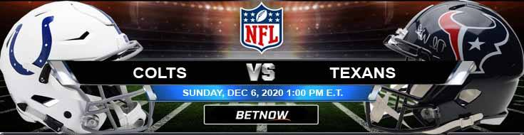 Indianapolis Colts vs Houston Texans 12-06-2020 Previews Spread and Game Analysis