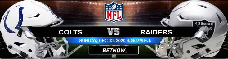 Indianapolis Colts vs Las Vegas Raiders 12-13-2020 Results Football Betting and Odds