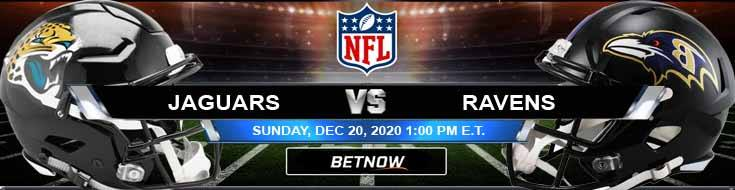Jacksonville Jaguars vs Baltimore Ravens 12-20-2020 Tips Forecast and Analysis
