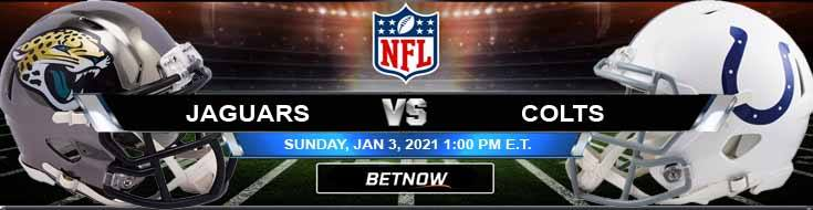 Jacksonville Jaguars vs Indianapolis Colts 01-03-2021 Spread Game Analysis and Tips