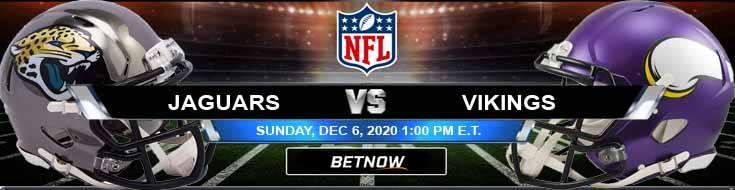 Jacksonville Jaguars vs Minnesota Vikings 12-06-2020 Spread Game Analysis and Tips