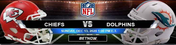 Kansas City Chiefs vs Miami Dolphins 12-13-2020 Game Analysis Tips and Forecast