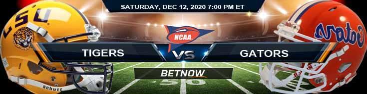 LSU Tigers vs Florida Gators 12-12-2020 NCAAF Spread Picks & Previews