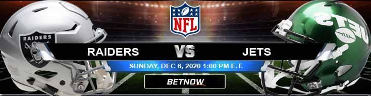 Las Vegas Raiders vs New York Jets 12-06-2020 Game Analysis Tips and Forecast