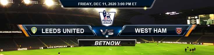 Leeds vs West Ham United 12-11-2020 Picks Preview and Betting Tips