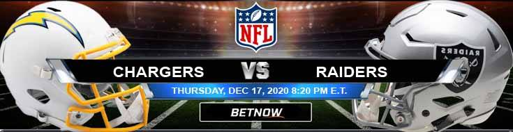 Los Angeles Chargers vs Las Vegas Raiders 12-17-2020 Odds Picks and Predictions