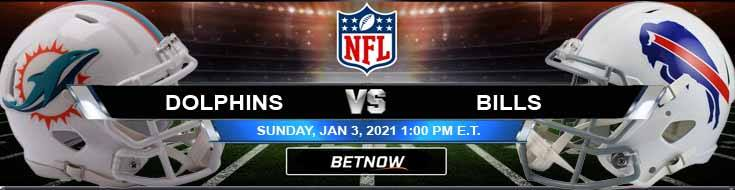 Miami Dolphins vs Buffalo Bills 01-03-2021 Tips Forecast and Analysis