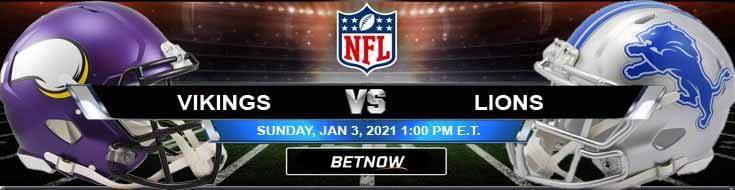 Minnesota Vikings vs Detroit Lions 01-03-2021 Forecast Analysis and Results