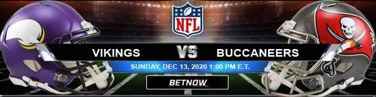 Minnesota Vikings vs Tampa Bay Buccaneers 12-13-2020 Tips Forecast and Analysis