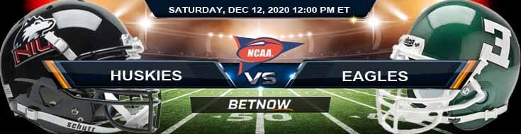 NIU Huskies vs Eastern Michigan Eagles 12-12-2020 NCAAF Forecast Tips & Odds