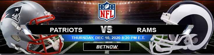 New England Patriots vs Los Angeles Rams 12-10-2020 Odds Picks and Predictions