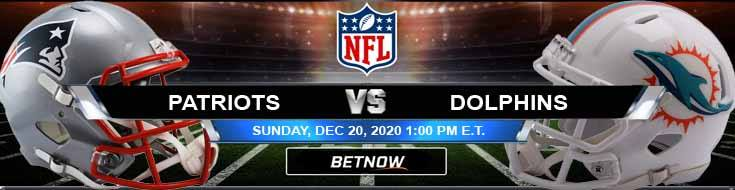 New England Patriots vs Miami Dolphins 12-20-2020 Forecast Analysis and Results