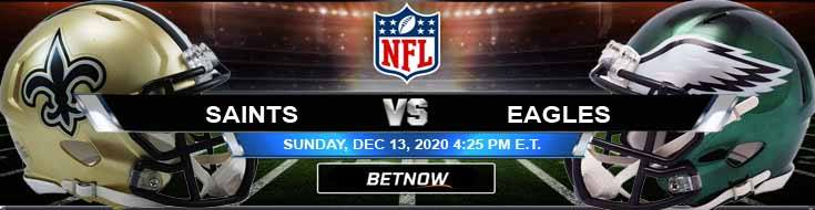 New Orleans Saints vs Philadelphia Eagles 12-13-2020 Picks Predictions and Previews