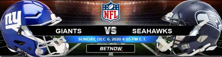 New York Giants vs Seattle Seahawks 12-06-2020 Analysis Results and Football Betting