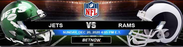 New York Jets vs Los Angeles Rams 12-20-2020 Odds Picks and Predictions