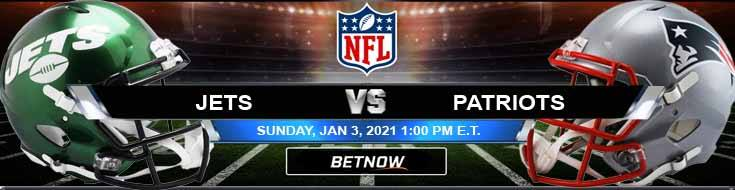 New York Jets vs New England Patriots 01-03-2020 Results Football Betting and Odds