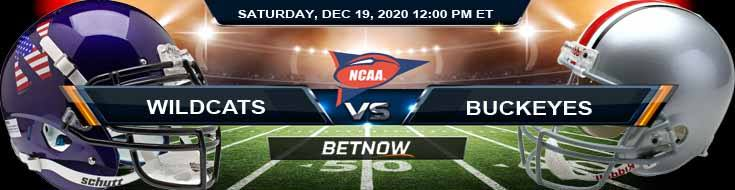 Northwestern Wildcats vs Ohio State Buckeyes 12-19-2020 NCAAF Tips Previews & Game Analysis