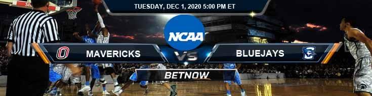 Omaha Mavericks vs Creighton Bluejays 12-1-2020 NCAAB Tips Previews & Game Analysis