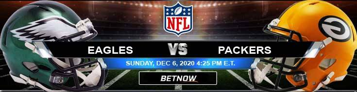 Philadelphia Eagles vs Green Bay Packers 12-06-2020 Football Betting Odds and Picks