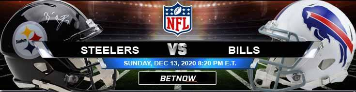 Pittsburgh Steelers vs Buffalo Bills 12-13-2020 Previews Spread and Game Analysis