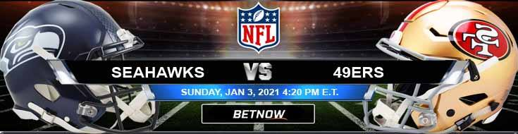 Seattle Seahawks vs San Francisco 49ers 01/03/2021 Spread, Game Analysis and Tips